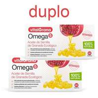 Vitalgrana Omega 5 DUPLO, 60 + 60 cápsulas + regalo