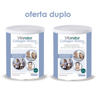 Vitanatur Collagen Antiox Plus sabor Frutos Rojos, DUPLO 2x360 g