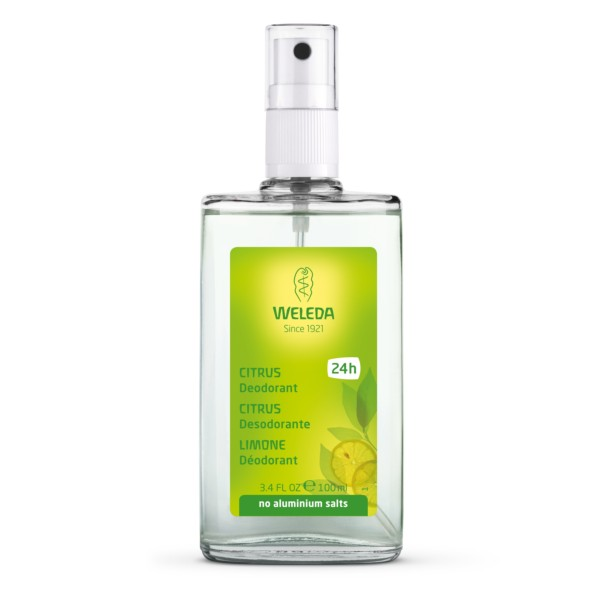 Weleda Desodorante de Citrus, 100 ml