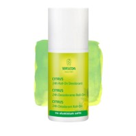 Weleda Fresh 24h Desodorante Citrus Roll On sin sales aluminio | Farmaconfianza