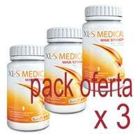 XLS-Medical Max Strength, triplo 3x120 comprimidos