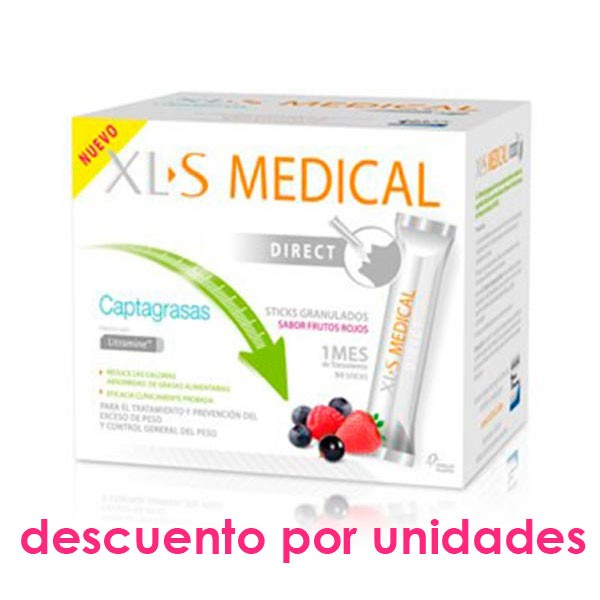 XLS Medical Captagrasas DIRECT, 90 sticks
