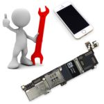 Reparar Placa Base iPhone 5
