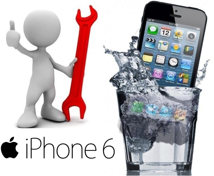 Reparar iPhone 6 Mojado
