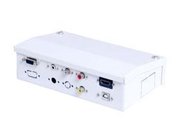 CAJA KIT CONEXION CON VGA / AUDIO / HDMI SIN CABLES