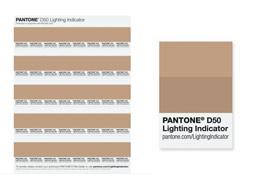 PANTONE PLUS LIGHTING INDICATOR STICKERS D50 LNDS-1PK-D50