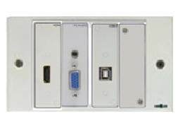 CAJA MULTIMEDIA HDMI + VGA+USB AUDIO CON CABLES HDMI+VGA+ AUDIO 10M