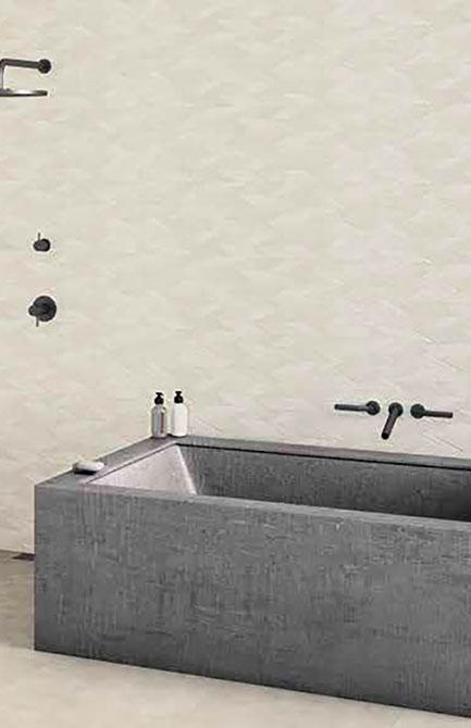 Durstone Spike White-Sand-Grey 31x98