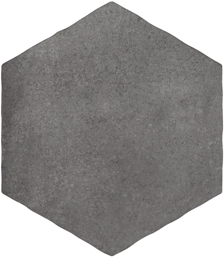 Durstone CMNT Hex Antracita 15x15 | Deck-Trade
