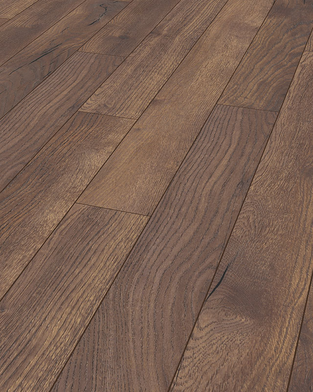 Amazone Laminate Narrow Plank Pettersson Oak Dark D4766