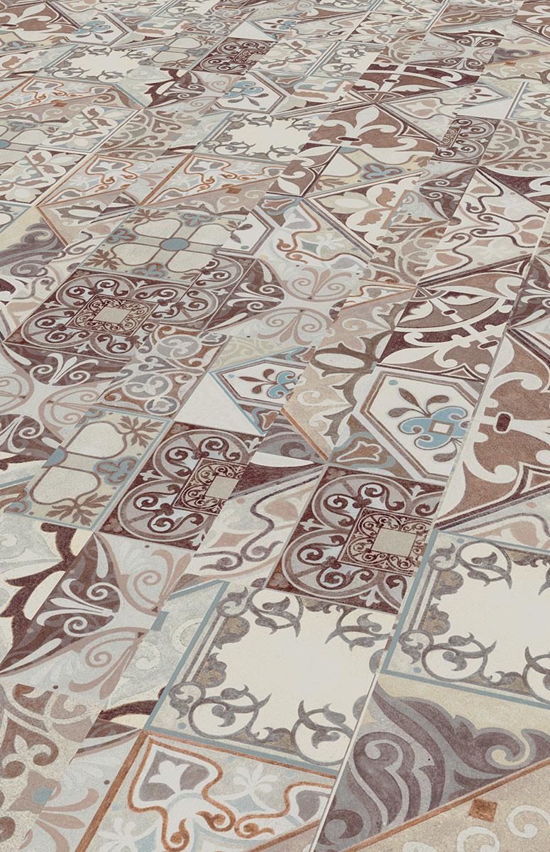My Floor Lodge Hidraulic Tile M8083 | Deck-Trade