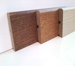 Rodapie Lamett madera chapada