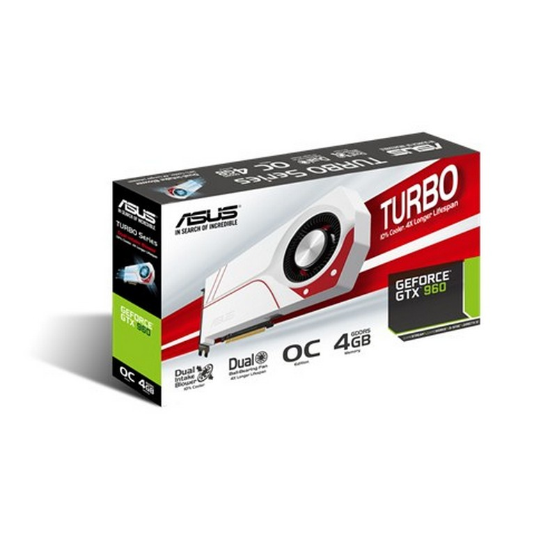 ASUS TURBO-GTX960-OC-4GD5 NVIDIA GeForce GTX 960 4GB - Item3