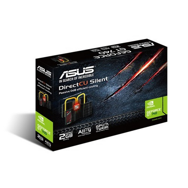 ASUS GT740-DCSL-2GD3 NVIDIA GeForce GT 740 2GB placa de vídeo - Item3