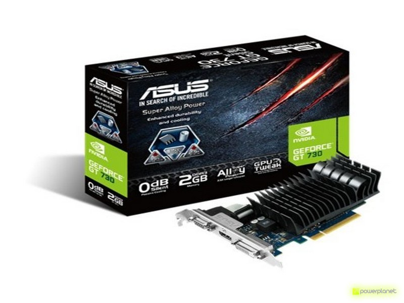 ASUS GT730-SL-2GD3-BRK NVIDIA GeForce GT 730 2GB