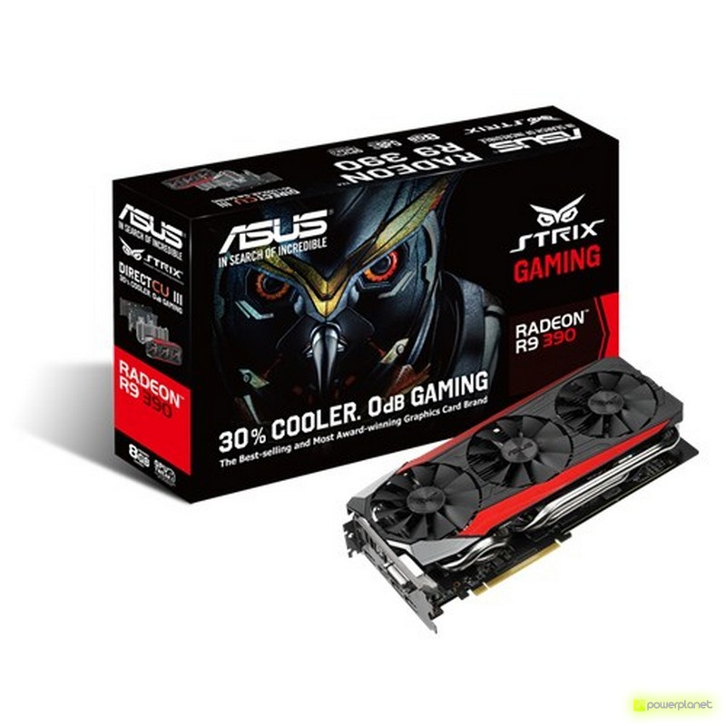 ASUS STRIX-R9390-DC3-8GD5-GAMING AMD Radeon R9 390 8GB - Ítem