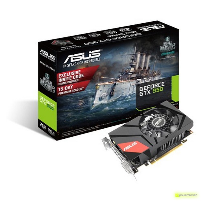 ASUS GTX950-M-2GD5 NVIDIA GeForce GTX 950 2GB - Ítem