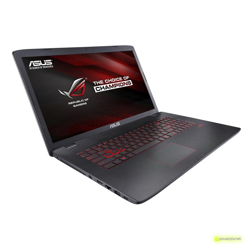 Laptop ASUS GL752VW-T4065D - Intel I7-6700 HQ/16GB/1TB/GTX960M/17.3 - Item2