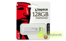 Kingston Technology DataTraveler G4 128GB 128GB USB 3.0 Verde, Branco unidade de memória USB - Item3