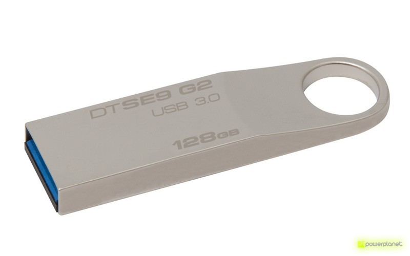 Kingston Technology DataTraveler SE9 G2 128GB 12GB USB 3.0 Prateado unidade de memória USB