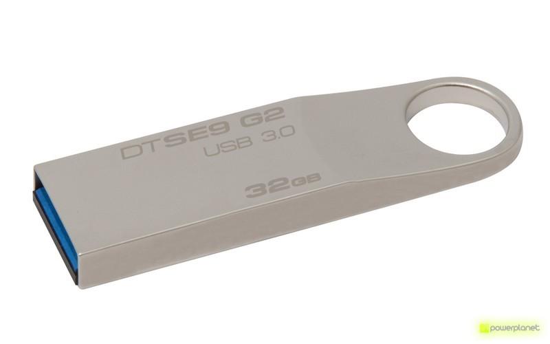 Kingston Technology DataTraveler SE9 G2 32GB 32GB USB 3.0 Plata unidad flash USB