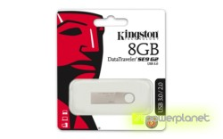 Kingston Technology DataTraveler SE9 G2 8GB 8GB USB 3.0 Plata unidad flash USB - Ítem2