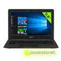 Laptop Acer Aspire One Cloudbook 11 - Intel Celeron N3050 - 2 GB RAM - 32 GB SSD - Dedicated Graphics - 11.6 - Item