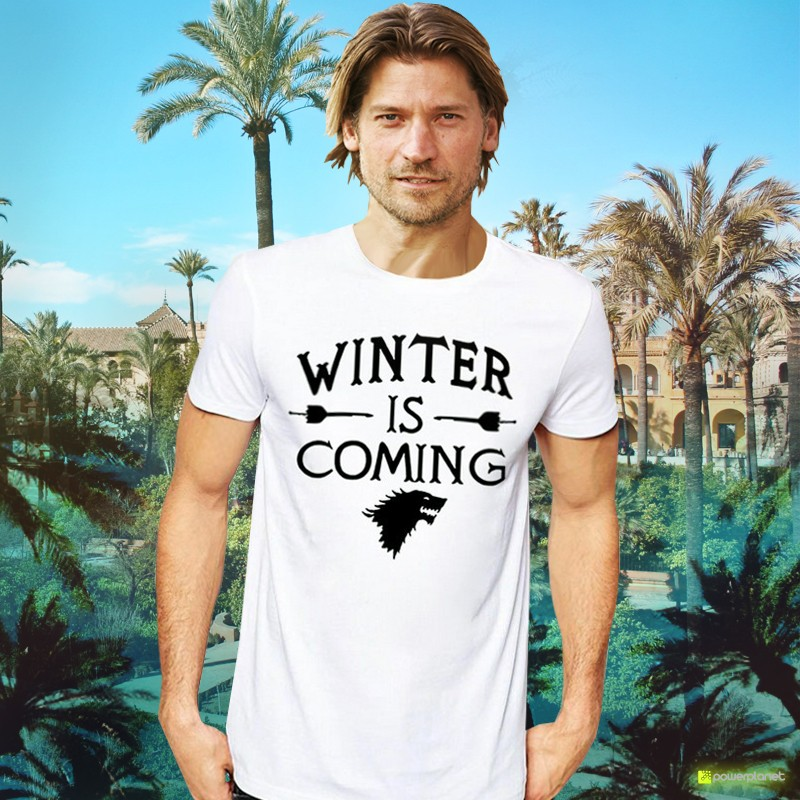 Camiseta Winter is Coming - Ítem1