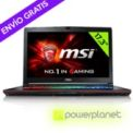 Laptop MSI GE72 6QD-098XES - Intel I7-6700 HQ/16GB/1TB+128SSD/GTX960M/17.3