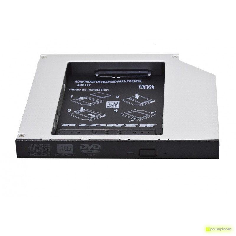 Kloner KHD127 Adaptador HDD/SSD para portátil - Ítem1
