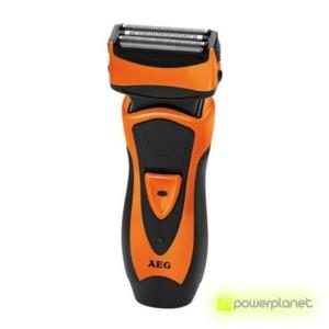 AEG Afeitadora Seco y Mojado HR 5626 Naranja