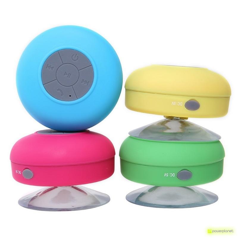 Alta-vozes Bluetooth Banho impermeável com Ventosa mãos livres BTS-06 - Item3
