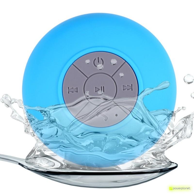 Alta-vozes Bluetooth Banho impermeável com Ventosa mãos livres BTS-06 - Item2