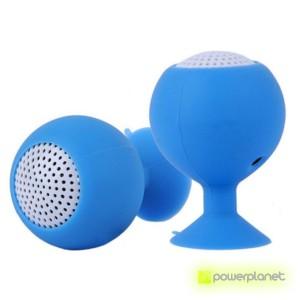 Mini Altavoz Bluetooth Ventosa