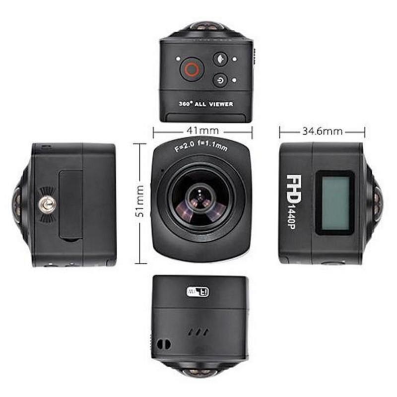 Câmera de Vídeo Esportes Amkov 100S 360 - Item6