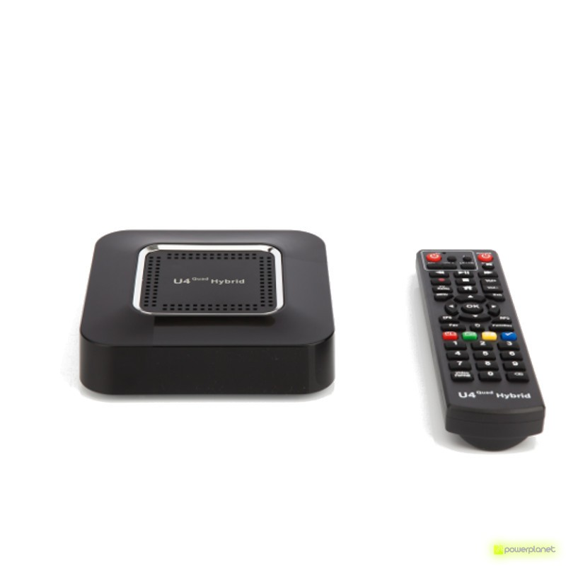 U4 Quad Hybrid Android TV Box 1GB/8GB - Ítem5