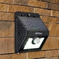 Aplique LED Solar Mpow con Sensor Movimiento MSL5 - Ítem1
