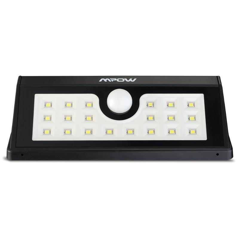 Aplique LED Solar Mpow con Sensor Movimiento MSL7 - Ítem1
