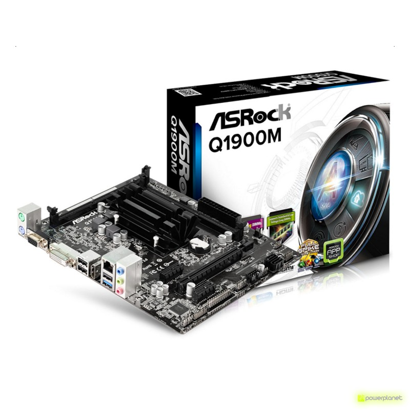 ASRock Q1900M Placa Base