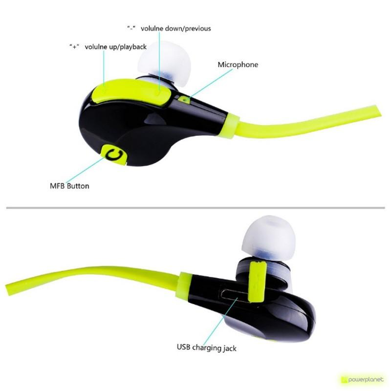 Auriculares Bluetooth QY7 - Ítem4