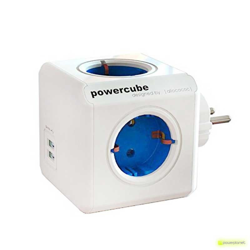 PowerCube Original USB 4 capturas + 2 portos USB - Item