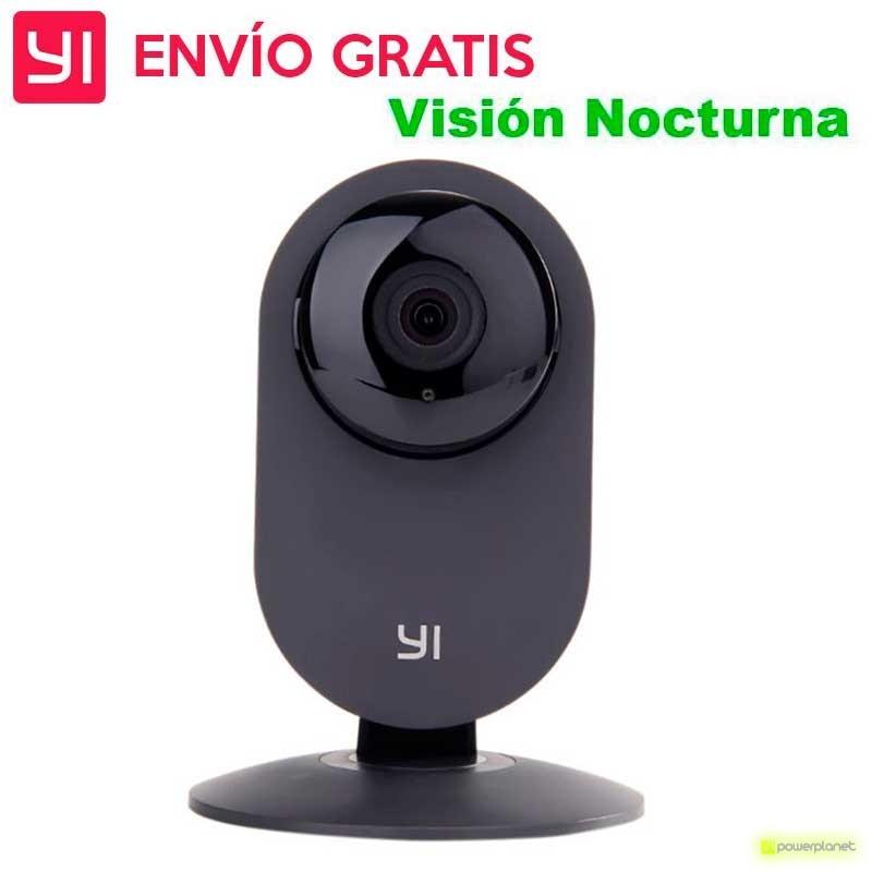 YI Home Camera em cor Preto