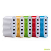 PowerCharger Cores 5 Portos USB