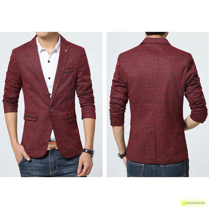 Blazer Exclusive de Linen Granada - Homen - Item1