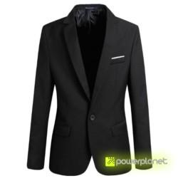Blazer Preta Slim Fit - Item1