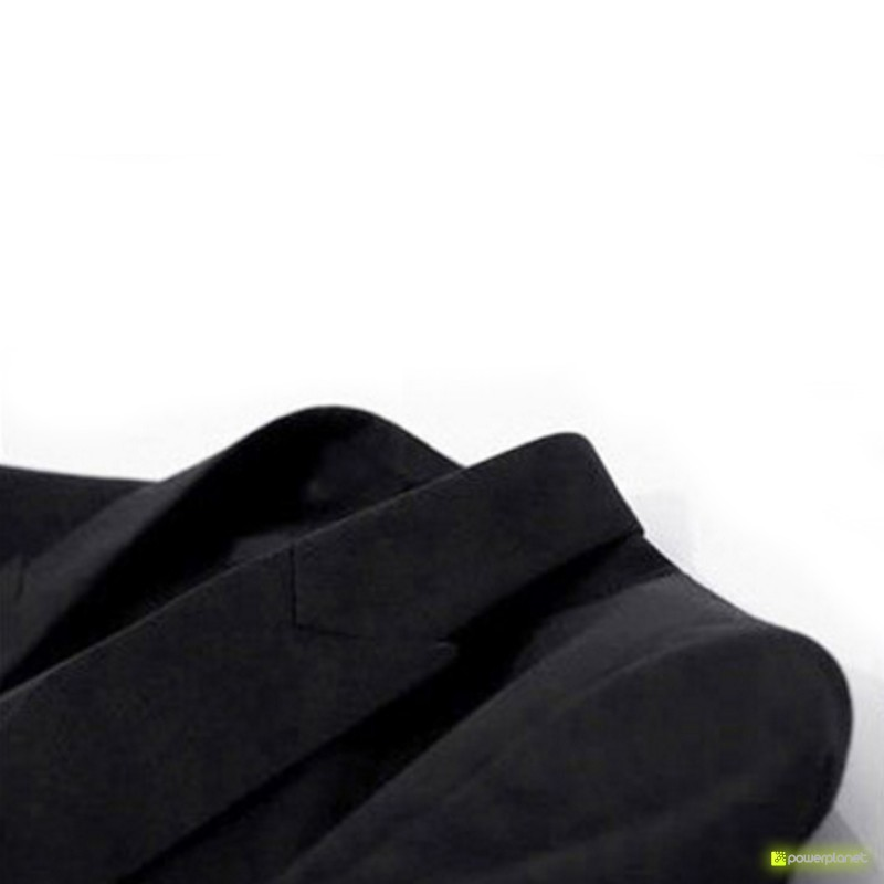 Blazer Slim Fit Casual Preto - Homen - Item4