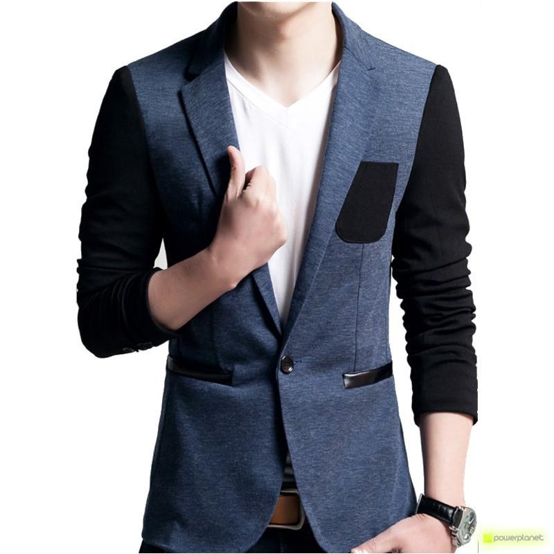 Blazer Soul Style Azul - Hombre