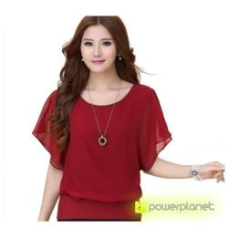 Blusa Roja Murciélago - Ítem2
