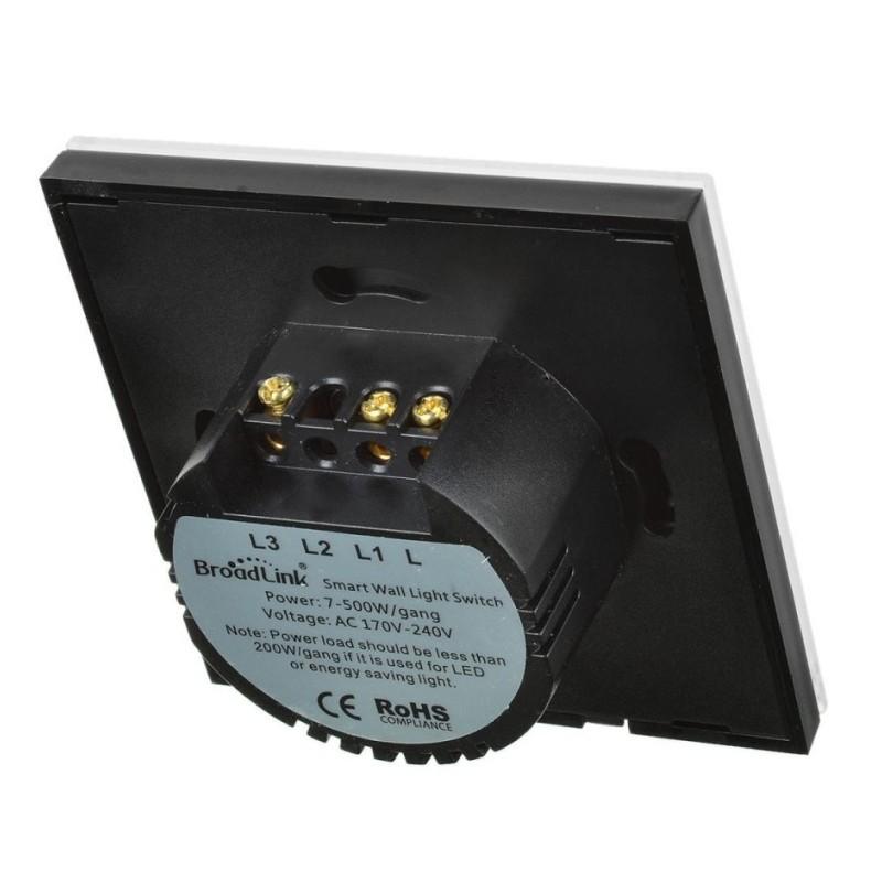 Interruptor Doble Broadlink TC2-2 Luz inteligente - Ítem2
