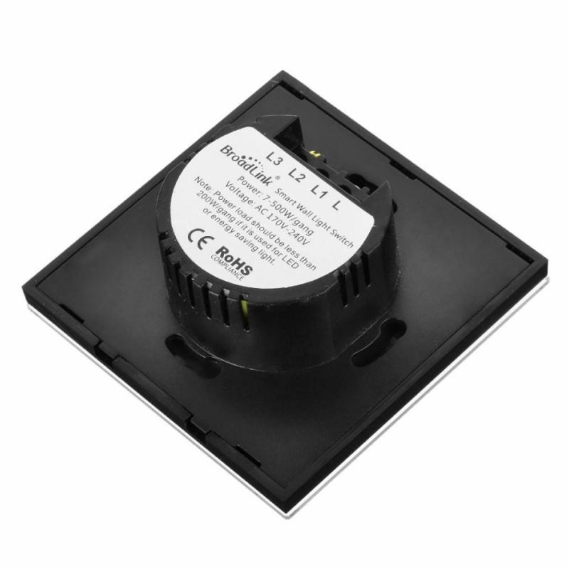 Interruptor Doble Broadlink TC2-2 Luz inteligente - Ítem4